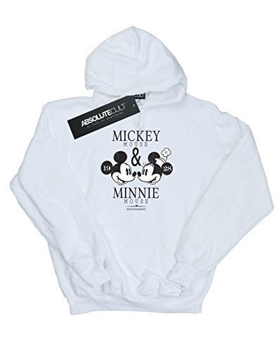 Blanco Mujer Mondays Hoodie Mousecrush Disney Mickey Mouse Y Minnie Mouse vWPqzw6