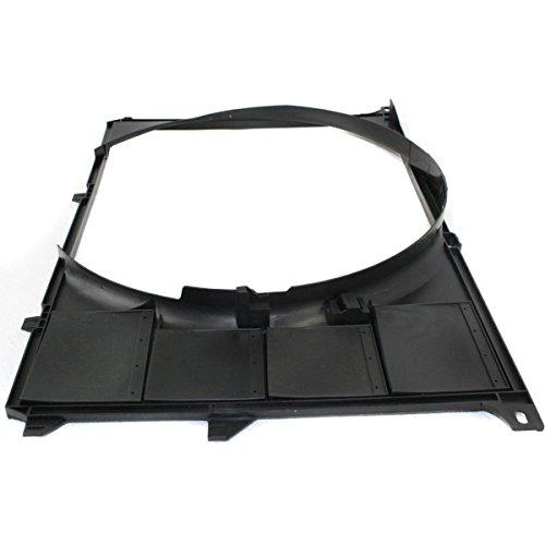 Diften 325-A1115-X01 - New Fan Shroud 540 740 750 530 Radiator BMW 740iL E34 5 Series 530i 17111723977