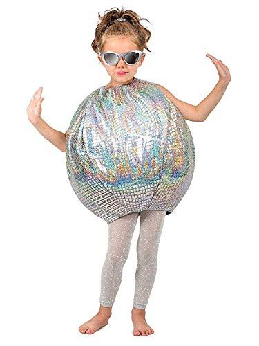 Princess Paradise Disco Ball 70's Child Costume, M/L -