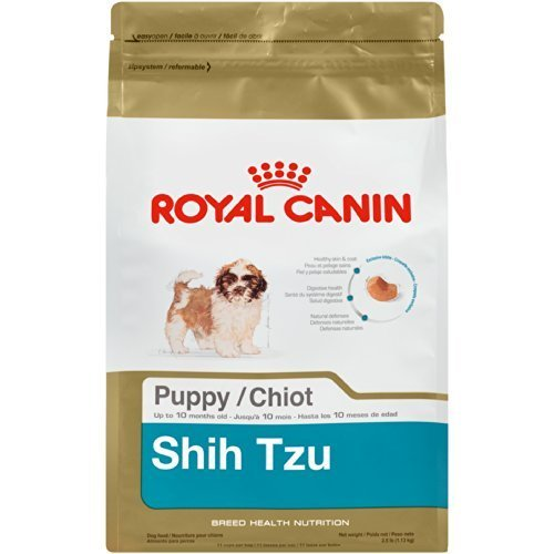 Royal Canin Shih Tzu Puppy Dry Dog Food - 2.5 Pounds (Best Puppy Food For Shih Tzu)