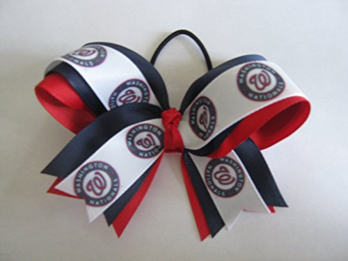 (Nationals Hair Bow)