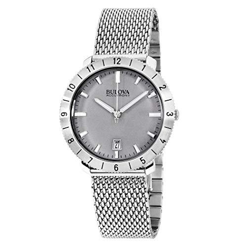 (Bulova Unisex Accutron II - 96B206 Stainless Steel Watch (Silver))