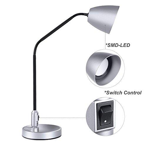 LED Desk Light, Aglaia Table Lamp, Flexible Goo...