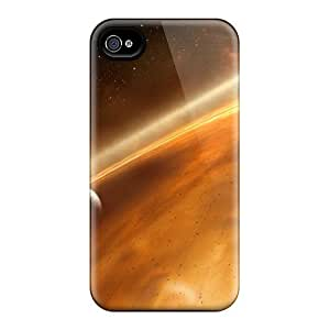 Forever Collectibles Space Hard Snap-on Iphone 4/4s Cases