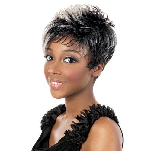AQUA (Motown Tress) - Synthetic Full Wig in JET BLACK