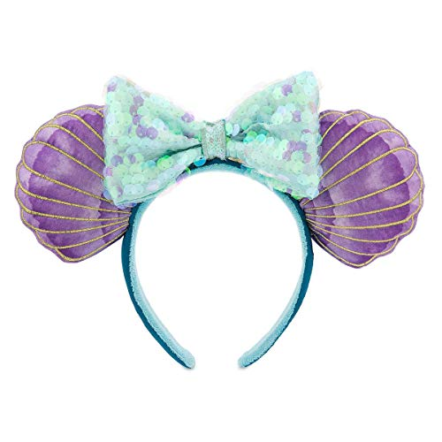 Wdw Halloween Decorations (Disney Parks Ariel Ear Headband - The Little Mermaid 30th)