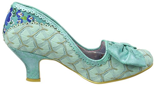 Pump Sparkle Shoe Mint Always Choice Mint Irregular Women's Smile Court f8qfRw