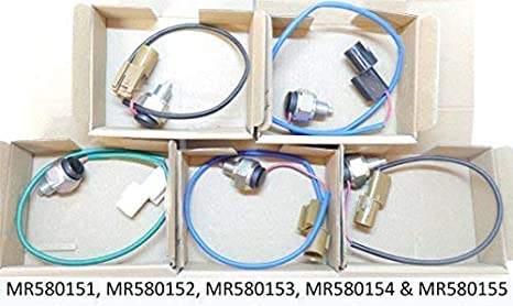 ALL 5 Mitsubishi Montero Shogun 3.2 DiD 3.5 GDI Mk3 99-06 4x4 Caja de
