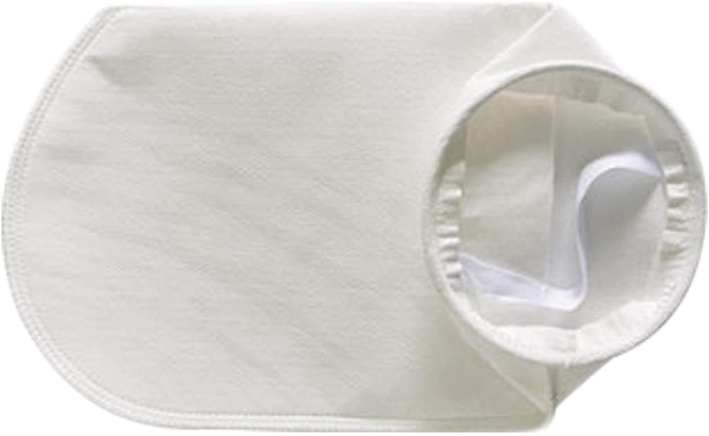 Felt Liquid Filter Socks Bag 1 Micron 7 Inch Ring by 16 Inch Long Industrial Filter Bags - 1Pack (1 Micron 7 x 16 Inch)