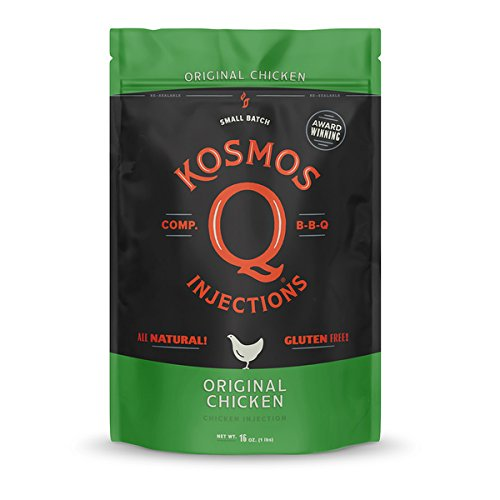 Kosmos Q Original Barbecue Chicken Injection | Seasoning & Marinade | MSG & Gluten-Free | Just Add Water or Broth