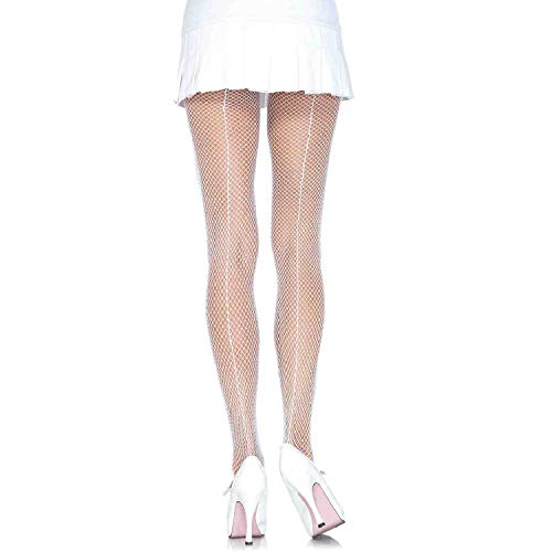 (Leg Avenue Womens Fishnet Tights with Backseam)
