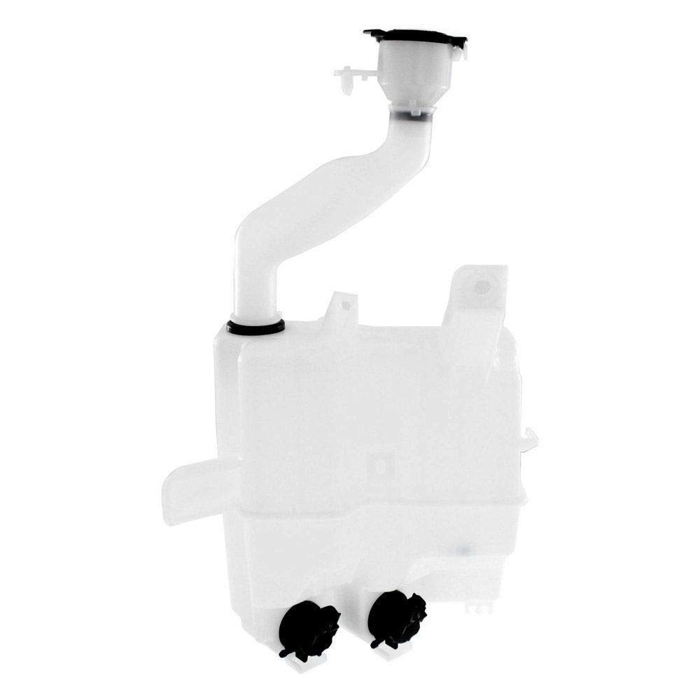 New Windshield Wash Tank For 2010-2015 Toyota Prius, 2012-2014 Toyota Prius V, With Pump And Inlet Without headlamp Washer Hole TO1288178 8531547140 by Fitrite Autoparts