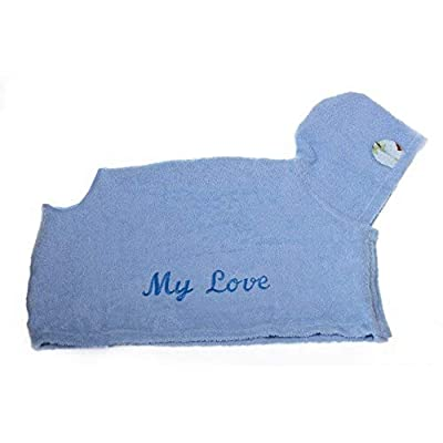 Michi My Love Dog Bathrobe