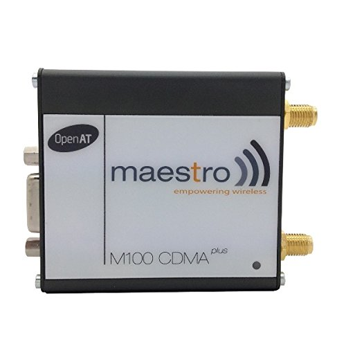Maestro Wireless M100CDMAPLUS-V-BUN 2G CDMA / 1xRTT Modem: Indoor Rated Verizon Certified