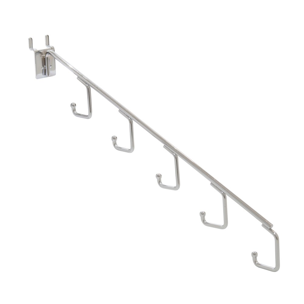 Econoco Commercial 5 Hook Pegboard Waterfall (Pack of 48)