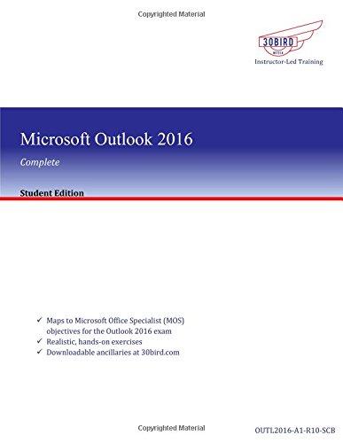 Download Microsoft Outlook 2016 ebook