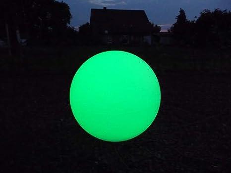 50 LED DEKO- LOUNGE- LEUCHT- GARTENKUGELN MIT FARBWECHSEL SET 40 60cm Kugel