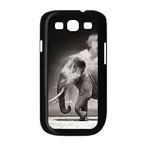 LZHCASE Diy Back Case Elephant For Samsung Galaxy S3 i9300 [Pattern-1]