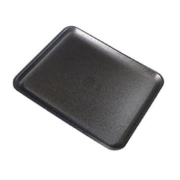 CKF 8sbk, # 8S negro espuma desechables bandejas de carne, Standart supermercado bandejas de