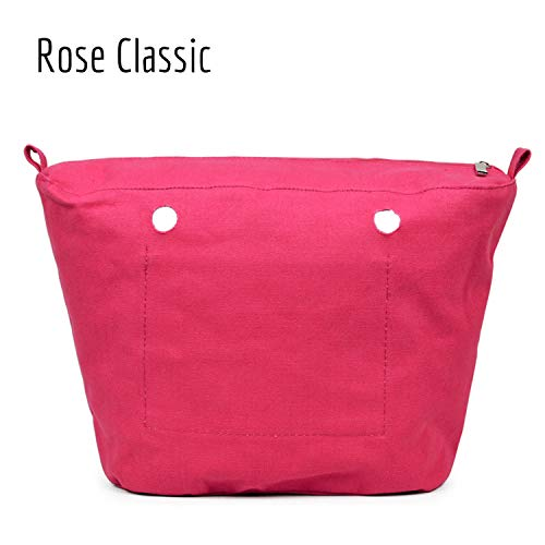 Rose Cremallera Tamaño Insert Impermeable Forro Con Interno Advanced Classic Super Interior Bolsa Sunonip Revestimiento Bolsillo O Clásico Para wqUSCwxt