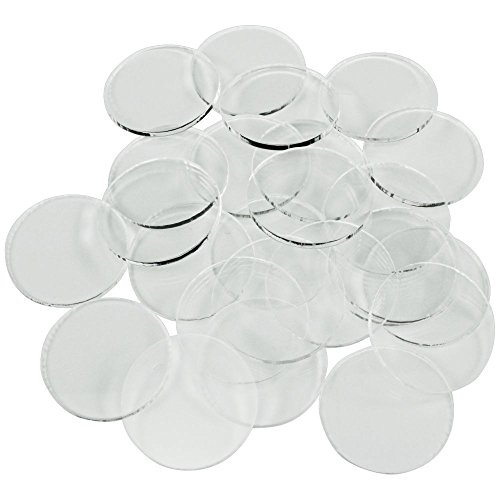 - Litko Game Accessories Clear Miniature Bases, Circular 1 Inch, 1.5mm Clear (25)