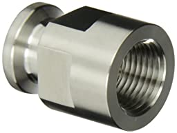 Dixon 22MP-R50 Stainless Steel 316L Sanitary Fitting, Clamp Adapter, 1/2\