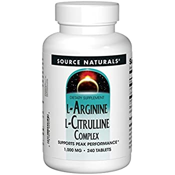 Amazon.com: Source Naturals L-Arginine L-Citrulline ...