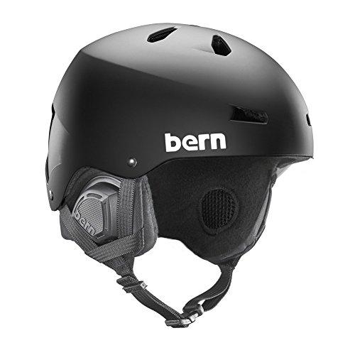 BERN Mens Macon, EPS Matte Black, L/XL