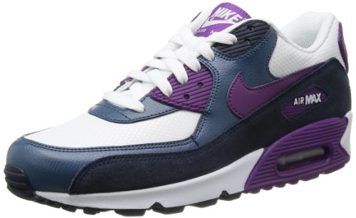 best service 83bab 65b96 Nike Womens Air Max 90 Essential - White  Bright Grape-Obsidian-New Slate,  7 B US - Buy Online in UAE.  Apparel Products in the UAE - See Prices, ...