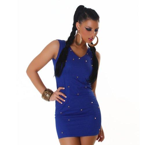 Young-Fashion - Vestido - para mujer Azul