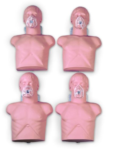 Economy Adult SaniManikin (4 Pack) with Carry Bag   Economy Adult Sani Manikin