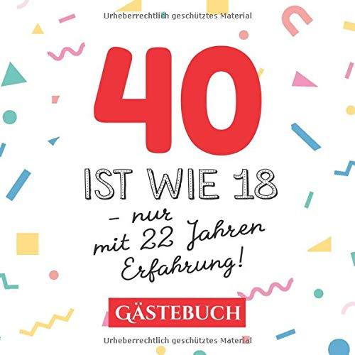 Geburtstagswünsche frau 40 jahre