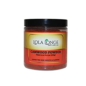 African Red Sandalwood Powder, Camwood Powder(osun) 8oz jar 100% Unrefined which is used as a face moisturizer and used for reducing skin discoloration. when mixed with Turmeric and Coconut Oil can rejuvinate the skin, clear dark spots and make the skin glow. When mixed with African black soap is known as dudu-osun
