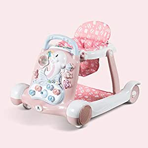 Mai Dou Andador para Bebés | Coche De Juguete Plegable Antivuelco ...