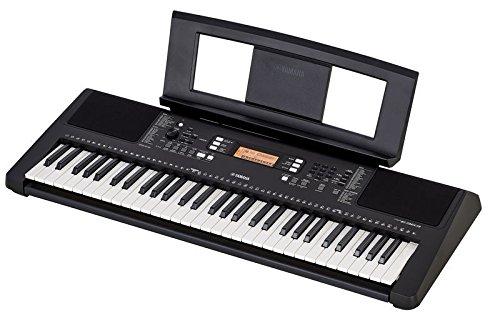 Yamaha PSR E363, Teclado con soporte, Teclado con auriculares y cargador: Amazon.es: Instrumentos musicales