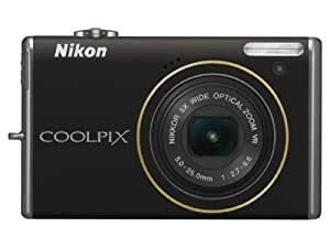 Nikon Coolpix S640 12.2MP Digital Camera with 5x Wide Angle Optical Vibration Reduction (VR) Zoom and 2.7-inch LCD (Calm Black)