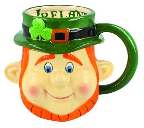 Head Leprechaun - McMurfy Ireland Leprechaun Head Mug