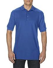 Gildan Premium Cotton Adult Double Pique Sport Shirt Royal Medium