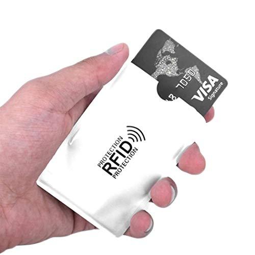 SHOPUS | Fikole 10Pcs RFID Blocking Sleeve Credit Card