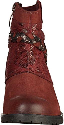 Tamaris 1-25382-29 Damen Stiefelette Rot(Bordeaux)