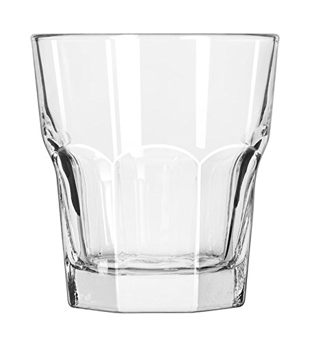 Libbey Glassware 15232 Gibraltar Rocks Glass, Duratuff, 10 oz. (Pack of -