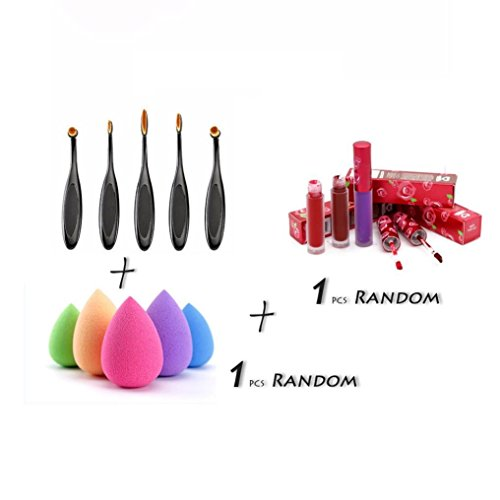 gbsell-5pcs-toothbrush-eyebrow-foundap-oval-brushes-1-pc-sponge-puffs-1-ption-eyeliner-lic-lip-gloss