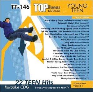 Top Tunes Karaoke CDG Young Teen Vol 1 TT-146 (Teen Tunes)