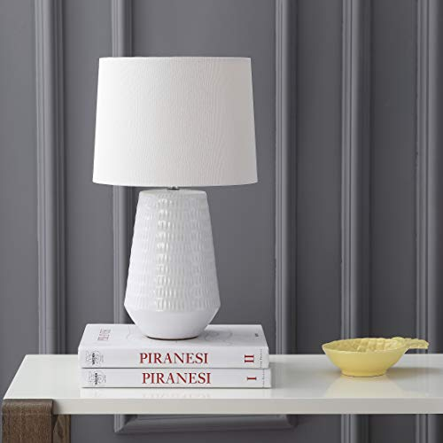 Safavieh TBL4087A Lighting Collection Stark White Table Lamp