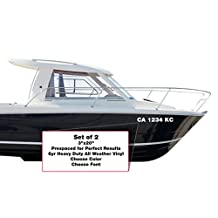 Custom Boat or PWC License Registration Numbers / Lettering Decals