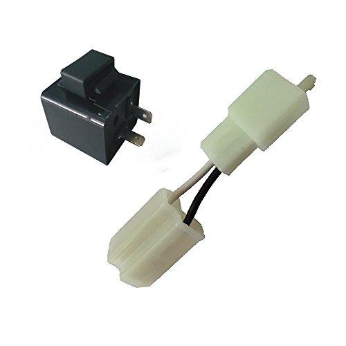 Turn Signal Flasher Relay 12V 2 Pin Motorcycle LED Indicator Light - 5
