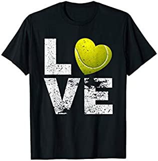 Cool gift I Love Tennis  Tennis Moms Dads Kids Tennis Gift Tee Women Long Sleeve Funny Shirt / Navy / S - 5XL