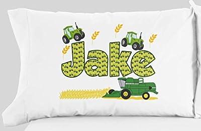 Personalized Tractor Farm Pillowcase