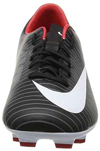 Nike Unisex-Kinder Mercurial Victory Vi Fg Fußballschuhe Schwarz (Black/white/dark Grey/university Red)