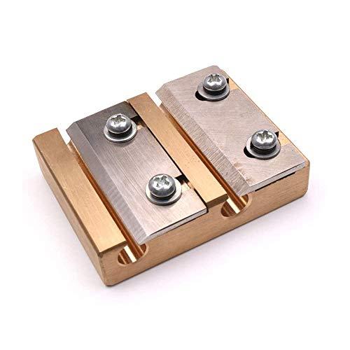 Jiayouy Violin Peg Reels Shaver 3/4 4/4 Size Luthier Making Tool 3/4-4/4 Size for DIY Violin Wooden Instrument